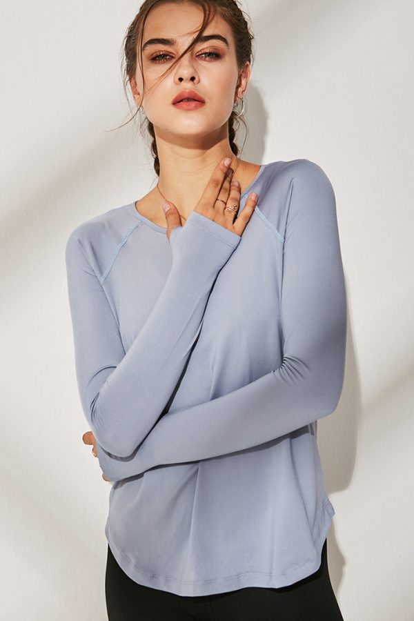 Bluza sport super-soft Multifunctional Grey
