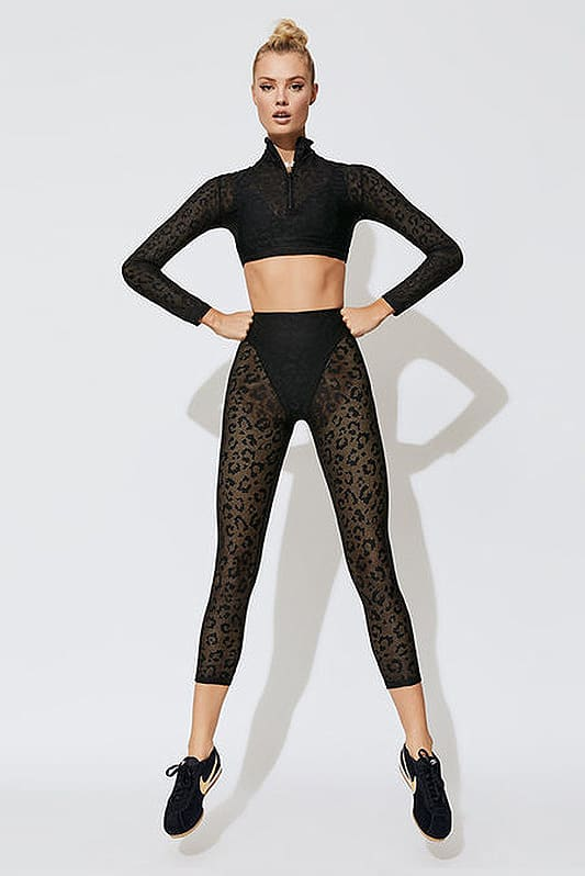 Costum sport fitness yoga Lace Black