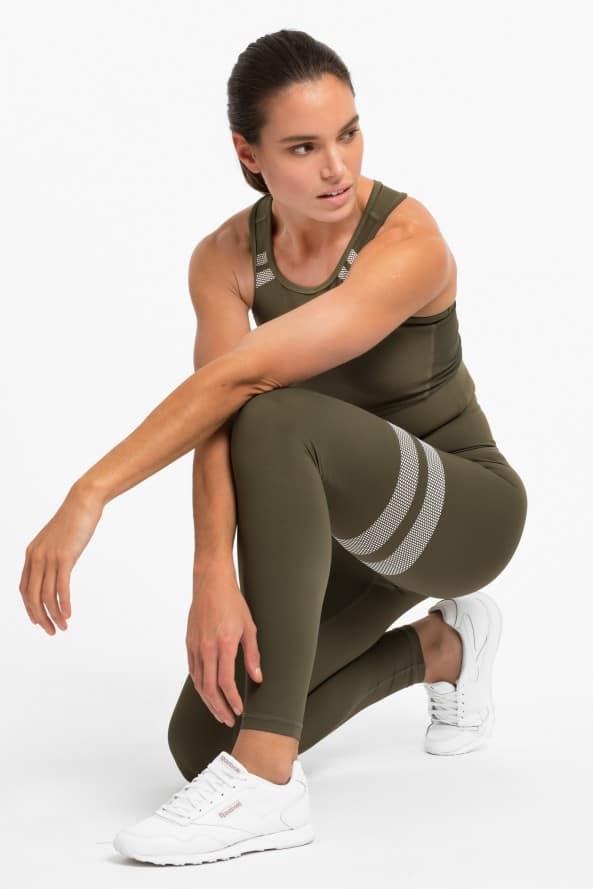 Colanti si bustiera fitness/yoga All Green