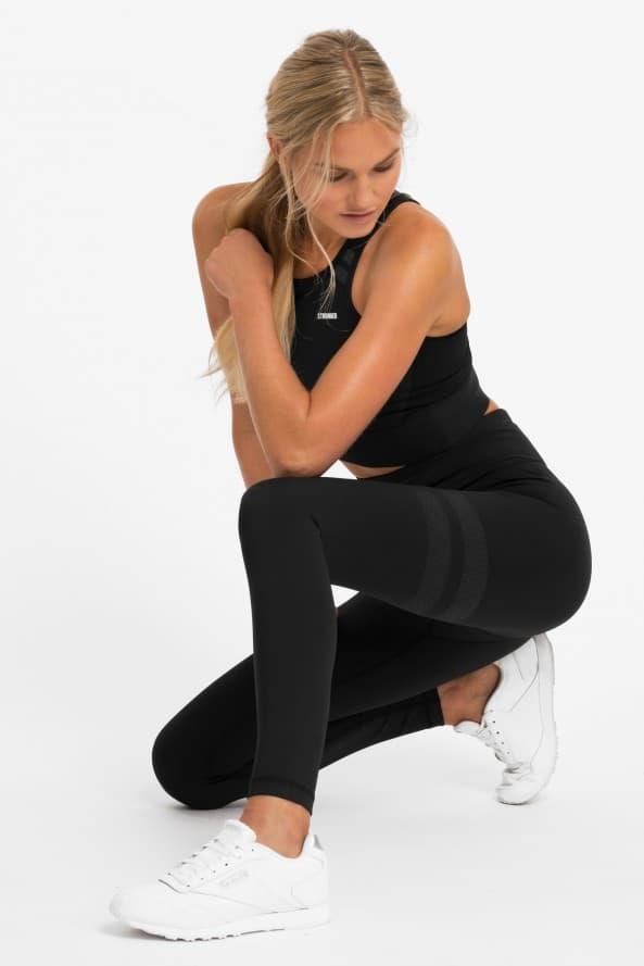 Colanti si bustiera fitness/yoga All Black