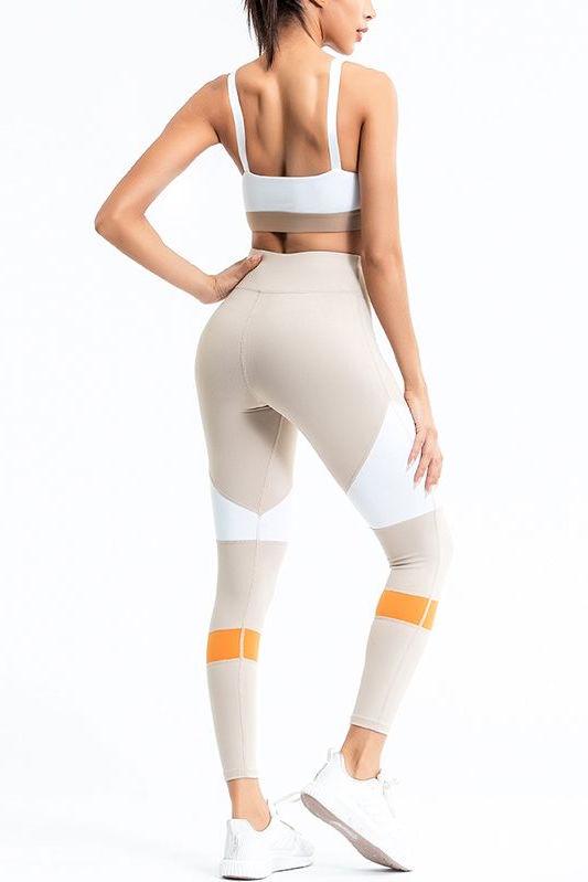 Costum sport doua piese Peach