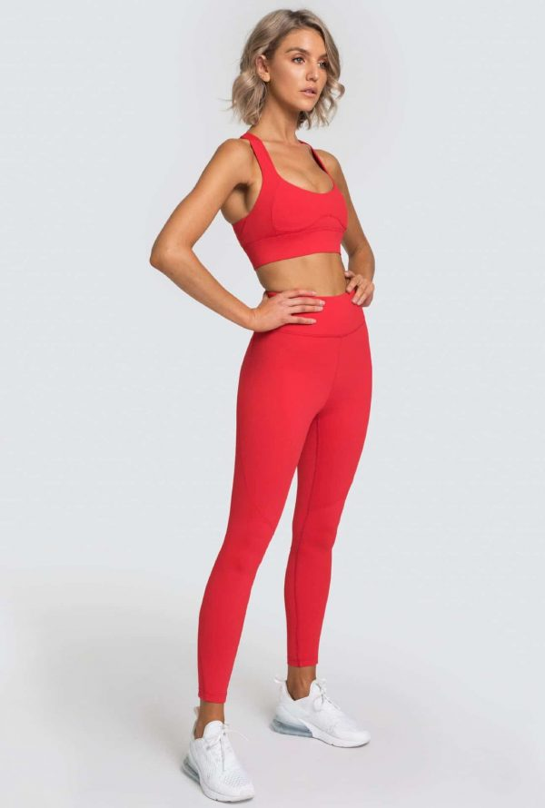 Costum fitness doua piese Passion Red